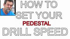 Drill Press Speed Chart Wood Magazine How To Select Correct Speed For Diameter And Material