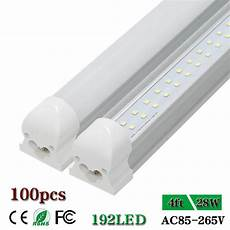 4 Ft Light Led Cnsunway Lighting Double Row 4 Ft Led Tube Light