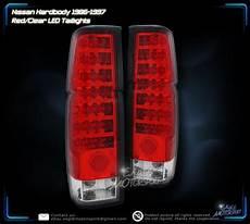 Nissan Hardbody Clear Lights Sell 1986 1997 Nissan Hardbody Pickup Led Red Clear