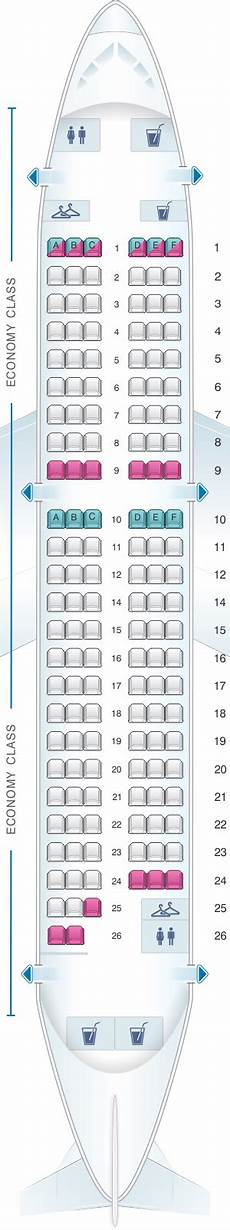 Alitalia Flight 631 Seating Chart Seat Map Air France Airbus A319 Metropolitan V2 With
