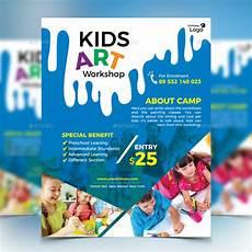 Kids Flyers 17 Workshop Flyer Designs Amp Templates Psd Ai Word