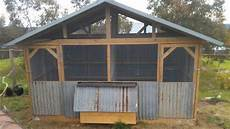 Chicken Shed Designs Australia Old Recycled Iron Chook House Designed Amp Built By Yummy