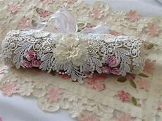 my shabby chic stick pin roll inspired by jeanette lace