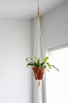 macrame plant hanger diy macrame plant hanger hgtv