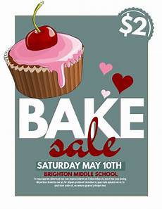 Bake Sale Poster Templates Free Bake Sale Template Postermywall