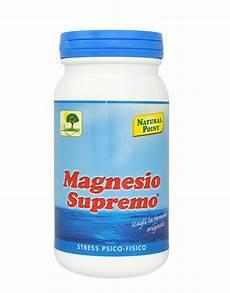 le proprietã magnesio supremo magnesio supremo di point 150 grammi 12 56