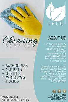 Cleaning Flyer Template Copy Of Cleaning Service Flyer Template Blue Postermywall