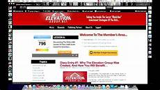 The Elevation Group Scam Elevation Group Back Office Review Mike Dillard Scam