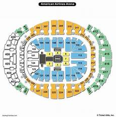 Usair Arena Seating Chart American Airlines Arena Seating Chart Seating Charts
