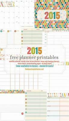 Free Printable Planner Pages 2015 Free Planner Printables Jpg