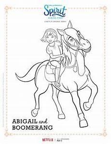 Malvorlagen Spirit Kinder Spirit Free Spirit And Lucky Coloring Page Disney