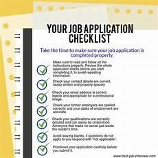 Tips For Job Best Job Application Tips