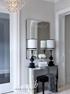 foyer mirrors mirrored foyer table contemporary entrance foyer