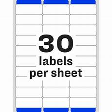 Avery Label Templates 5260 Avery 174 Easy Peel 174 Address Labels With Sure Feed