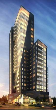 Two One Two Design The First Tower Will Soar 21 Storeys Above A Two Storey