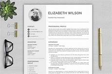 Creative Word Cv Templates Creative Resume Template Cv Template Resume Template For