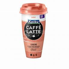 Kaiku Caffe Latte Light Kaiku Caff 233 Latte Light Vaso 230 Ml