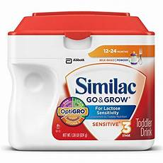 Similac Ounces Chart Similac Go Amp Grow Sensitive Toddler Drink Stage 3 Powder