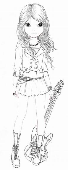 Ausmalbilder Topmodel Top Model By Depeche Free Colouring Pages
