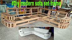 diy modern sofa set frame