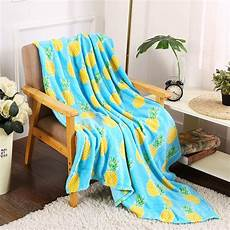 Summer Throws For Sofa 3d Image pineapple decorative summer blanket colorful throw blanket