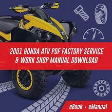 Atv Honda Service Repair Workshop Manuals
