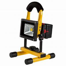 Dimmable Led Work Light 10w Portable Rechargeable Led Work Light W Usb Charger