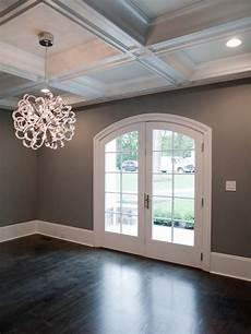 Dark Walls Light Floor Dark Floors Gray Walls White Trim In Love Sublime