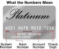 My Creditcard Number Credit Card How Does It Work Credit Card