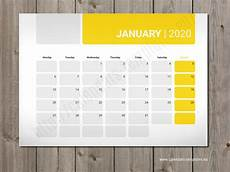 planners 2020 weekly best 2020 monthly planners templates pdf eps svg and