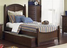 panel bed with trundle by liberty furniture wolf