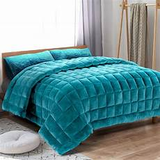 bedding faux mink quilt comforter fleece throw
