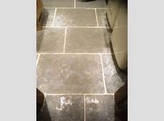 Stone Effect Pre Cast Concrete Kitchen Flooring Deep Cleaned in Arnside ? Tile Cleaners   Tile