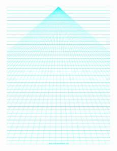 Perspective Graph Paper Printable Perspective Paper Center With Horizontal Lines