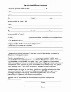 Lease Termination Template Termination Letter Templates 26 Free Samples Examples