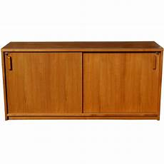 wooden credenza 65 quot mid century wood wall credenza file cabinet ebay
