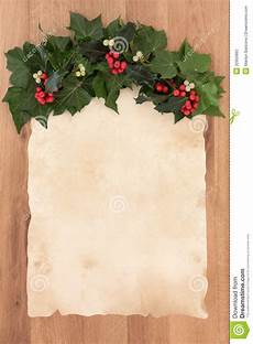 Christmas Letter Backgrounds Christmas Parchment Letter Stock Photography Image 32955862