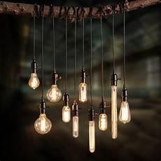 Single Bulb Pendant Light Retro Industrial Loft Exposed Light Bulb Mini Pendant Lamp