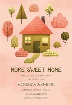 Housewarming Invitation Samples Cozy Pink Housewarming Invitation Template Free