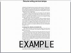 Resume Writing Services Tampa Resume Services Tampa Hudsonhs Me