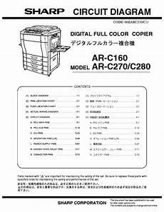 Sharp Ar P350 Ar P450 Service Manual Download Schematics