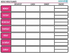 Meal Prep Calendar Menu Planning Amp Meal Prep Tips Plus Free Printable Di