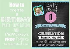 Create An Invitation For Free How To Create An Invitation In Picmonkey