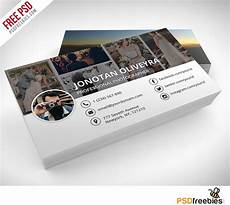 Photography Business Cards Templates Freebie Professional Photographer Business Card Psd On