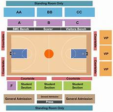 Cbu Event Center Seating Chart St Marys Gaels Basketball Tickets College Basketball