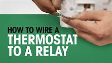 Honeywell Total Zone 4 Purge Light How To Wire A Thermostat To A Relay Youtube