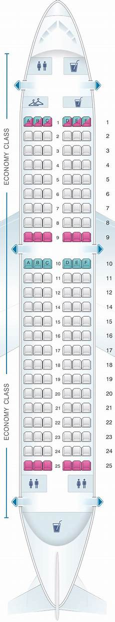 Alitalia Flight 631 Seating Chart Seat Map Croatia Airlines Airbus A319 Best Airplane