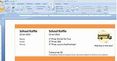 Where Do You Buy Raffle Tickets Print Numbered Tickets In Word Raffle Ticket Creator