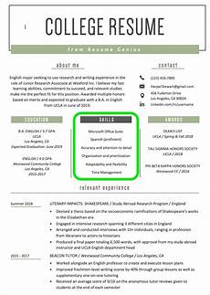 How To Word Skills On Resume How To List Skills On A Resume Skills Section 3 Easy