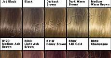 Professional Clairol Hair Color Chart Clairol Beautiful Collection Color Chart Clairol Hair